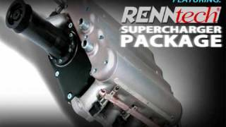 RENNtech Supercharged SL500 in-house dyno tuning