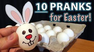 10 Best EASTER PRANKS on Family!!