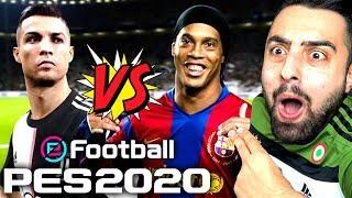 PES 2020 ! JUVENTUS VS EFSANELER ! İLK MAÇ ! OHAAA !