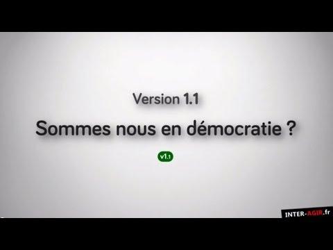 Sommes nous en démocratie ? [version 1.1]