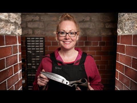 Thumbnail: Mum Of Two Crafts Knives And Scissors For A Living: Forged In Britain