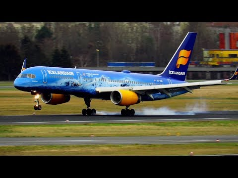 35+ Minutes of Plane Spotting at Berlin Tegel Airport (TXL) - AWESOME Variety!