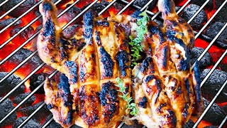 Grilled Whole Chicken Recipe with Easy Marinade