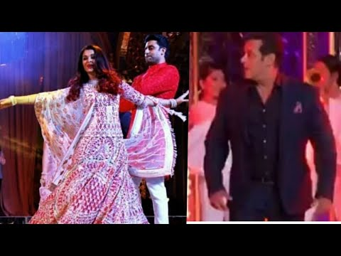 Salman - Aishwarya Performance At Isha Ambani Anand Piramal Pre Wedding Party 2018