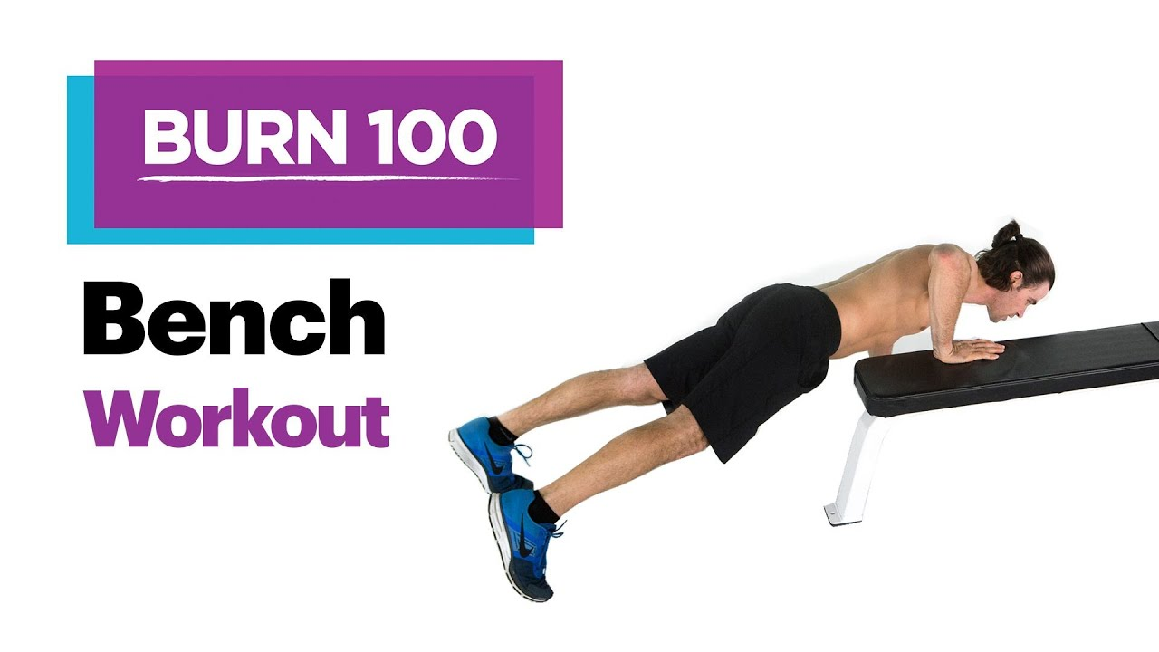 No Equipment Bench Workout Quick Easy At Home Workout Routine Self S Burn 100 Calories