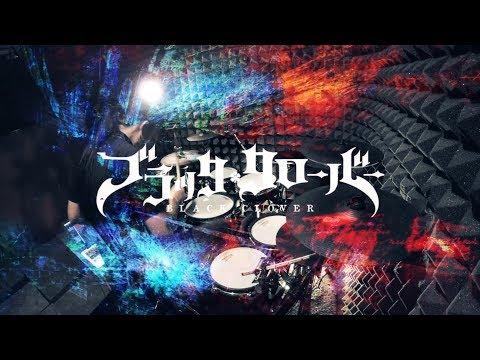 【ブラッククローバー】BiSH - PAiNT it BLACK フルを叩いてみた / Black Clover Opening2 full Drum Cover