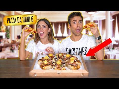 PROVO LA PIZZA PIÚ COSTOSA D'ITALIA *CON IL MIO CONTO HYPE* | GIANMARCO ZAGATO