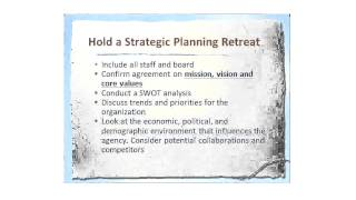 Strategic Planning In Non-Profit Organizations