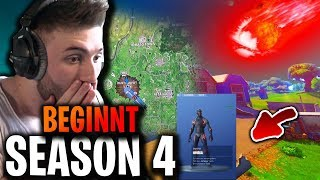 SEASON 4 BEGINNT- BATTLE PASS 😱 - FORTNITE BATTLE ROYALE