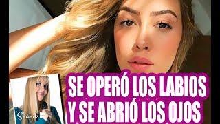 MICHELLE SALAS SE OPERÓ LOS LABIOS Y SE ABRIÓ LOS OJOS!!! ShanikTv