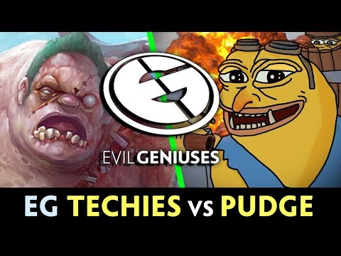 TECHIES vs PUDGE — EG having FUN on MAJOR