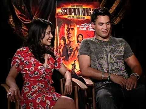 Scorpion King 2: Rise of a Warrior  Exclusive: Michael Copon and Karen David