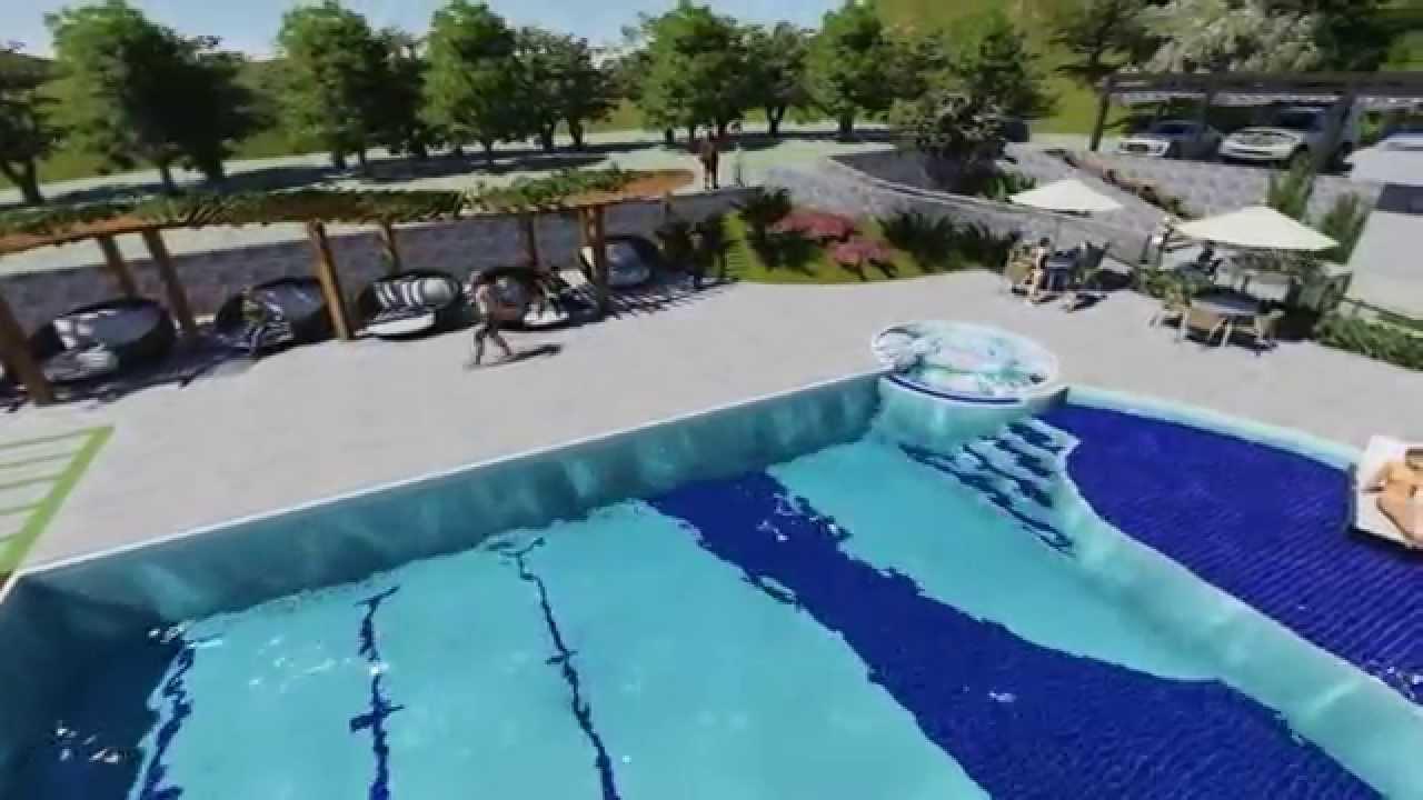Piscina de azulejo alvenaria e concreto armado para um for Azulejo para piscina