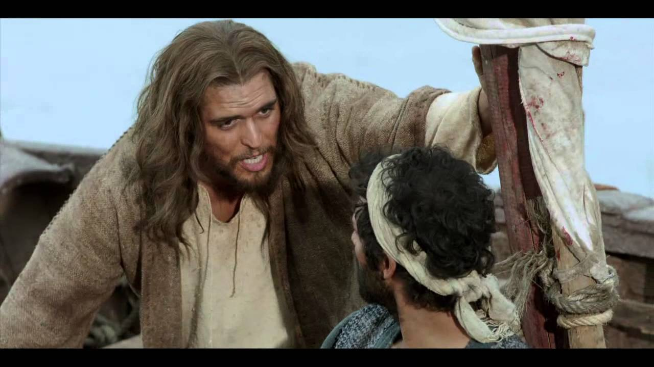the bible preview jesus with peter youtube