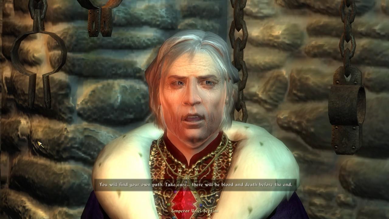 Uriel Septim Oblivion Character Overhaul v2 at Oblivion