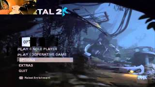 how To Play Portal 2 Split Screen and With 2 PC or PS2 USB Controller Tutorial