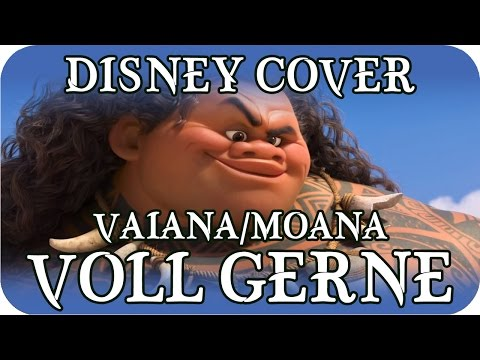 🎤 Disney Cover - Vaiana - Voll gerne! (Moana - You're Welcome! German Cover)