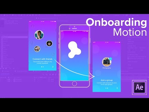Adding Motion to your Designs - Onboarding Animation Tutorial