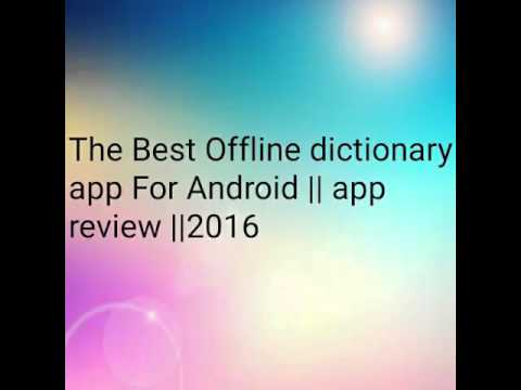 Free Offline Oxford Dictionary of English APK Download For Android