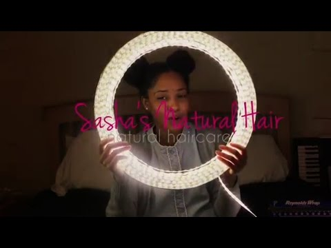How to: Quick, Easy, and Cheap Diy Ring Light for Under $25 (tutorial) |Sashasnaturalhair