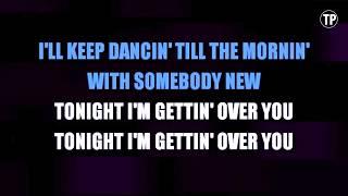 Tonight I'm Getting Over You - Carly Rae Jepsen | Karaoke LYRICS Mp3