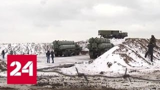 """ЗРК """"Триумф"""" надежно защищают Крым от атак с воздуха - Россия 24"""