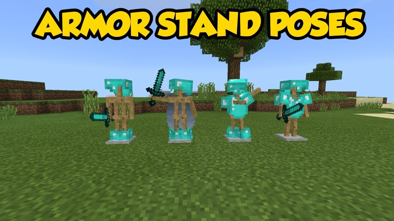 Armor Stand Poses Minecraft