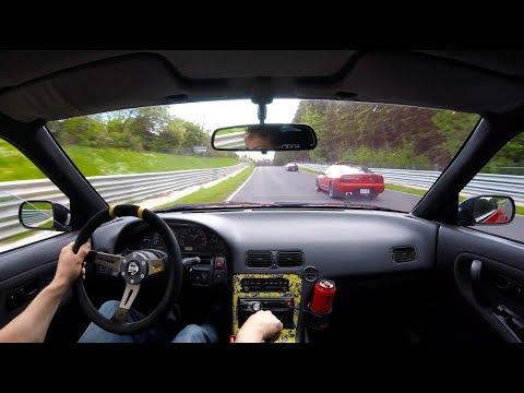 Nissan 200SX CA18DET Touristenfahrten 20.05.2017 Nürburgring Nordschleife 4K 日産 ニュルブルク