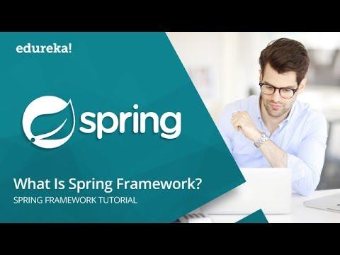 What Is Spring Framework In Java | Spring Framework Tutorial For Beginners With Examples | Edureka