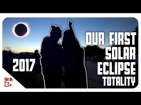 CAUGHT ON CAMERA! | 2017 Solar Eclipse Totality North Georgia