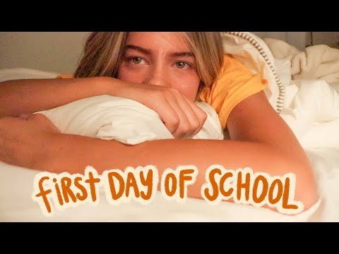 GET READY WITH ME: first day of school (junior year)