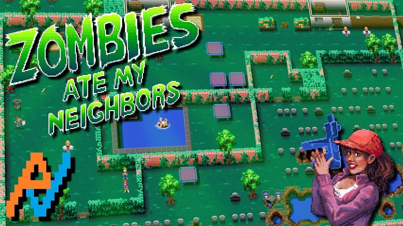 snes atlas zombies ate my neighbors zombie panic youtube