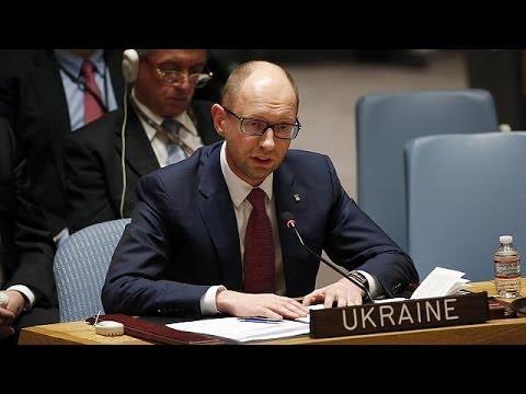 Ukraine: Yatsenyuk calls on Russia to pull troops out of Crimea