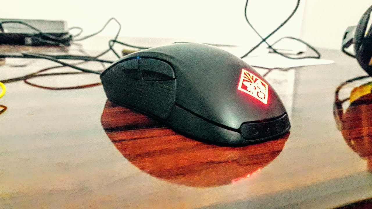 Hp Omen Gaming Mouse Unboxing Youtube