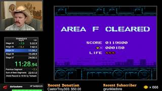Shatterhand NES speedrun in 23:36 by Arcus