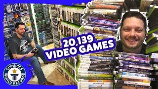 World's largest collection of videogames! - Guinness World Records