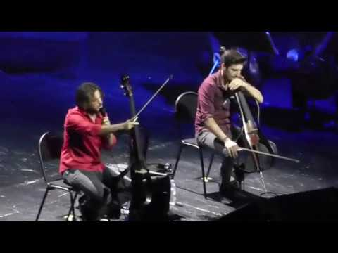 2CELLOS - Now We Are Free (Gladiator)/ Moscow, 29.05.2018