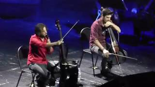 2cellos - Now We Are Free  Gladiator / Moscow, 29.05.2018