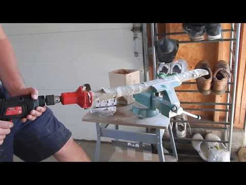 Use A Tenon Cutter To Make Rustic Log Furniture