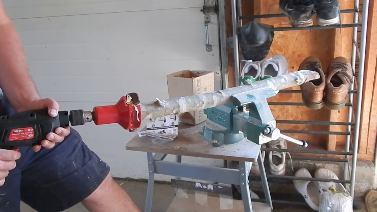 Use a Tenon Cutter to Make Rustic Log Furniture
