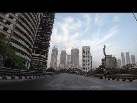 Lower Parel Morning Drive | Mumbai's Skyscrapers | Mumbai 2018 [4K]
