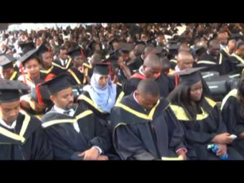 Graduation of the PAN AFRICAN UNIVERSITY PIONEER STUDENTS