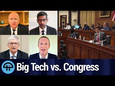 Mr. Cook, Zuck, Bezos, and Pichai 'Go' to Washington