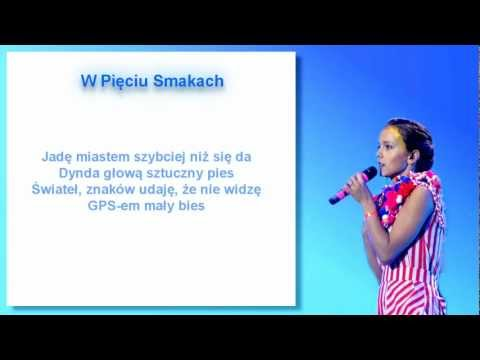Monika Brodka - W Pięciu Smakach (karaoke)