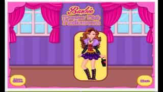 Barbie Monster High Halloween Cartoon Video Game For Girls