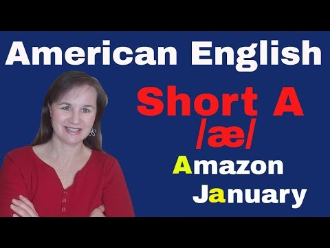 English Short A Sound