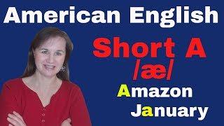 English Short A Sound  - /æ/