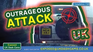 Exposed: UK Dash Cams - Poor Drivers, Road Rage + Crash Compilation #124