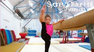 Sydney Olivier-Hall - Amazing 9 year old gymnast!
