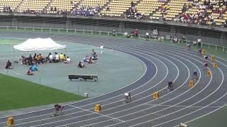 2014IH陸上北九州地区予選 男子4×100mリレー決勝